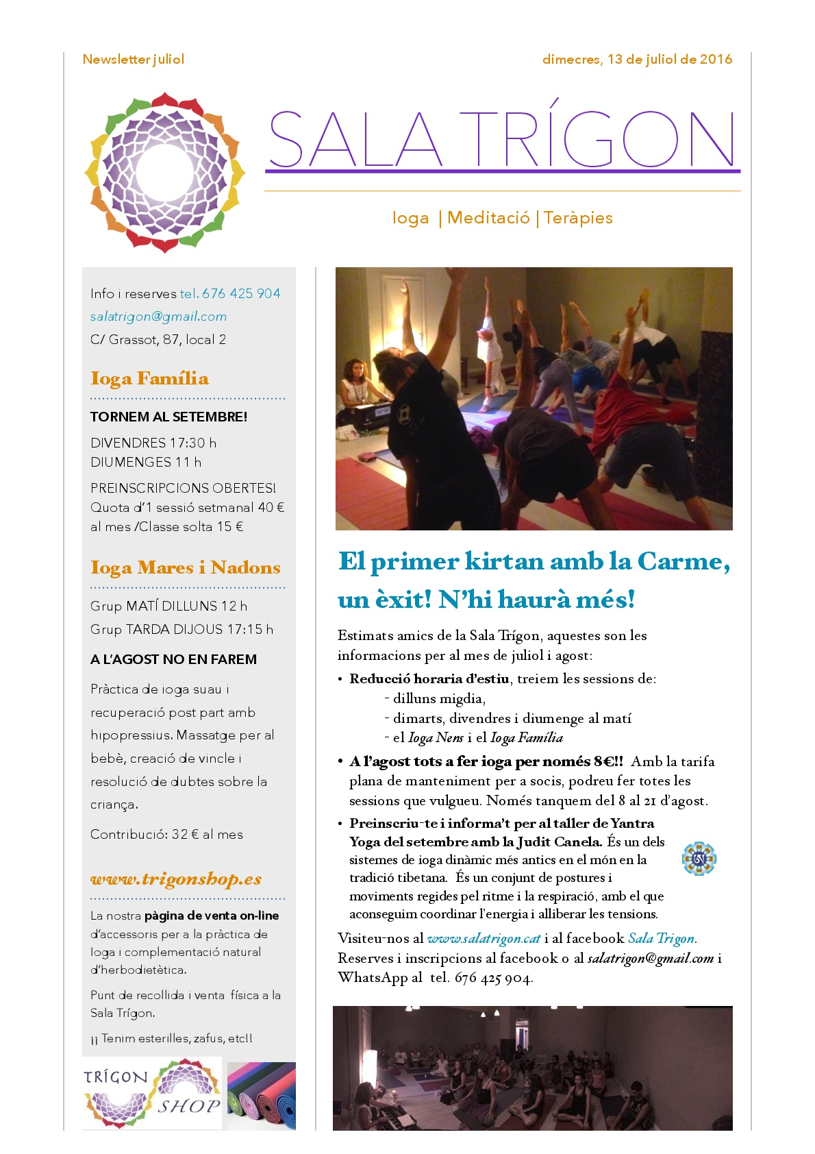 Newsletter Juliol 001